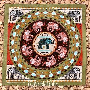Accessories - Bandana Elephant Print - NWT